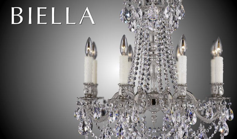 Brass crystal chandelier fine lighting american brass crystal bellagio collection biella collection aloadofball