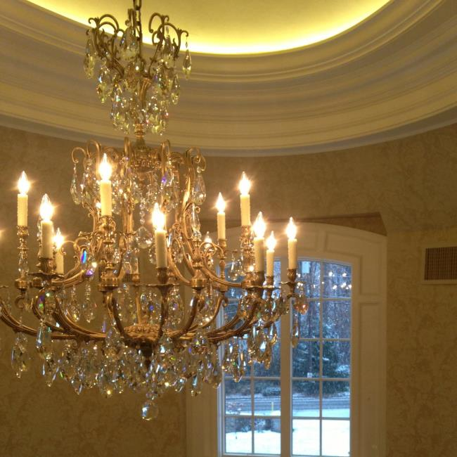 Saddle River Parisian Foyer Chandelier