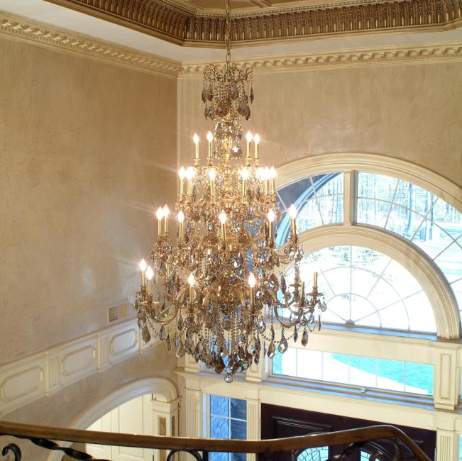 Grand Foyer Lighting : Biella piet de tier custom projects chandeliers