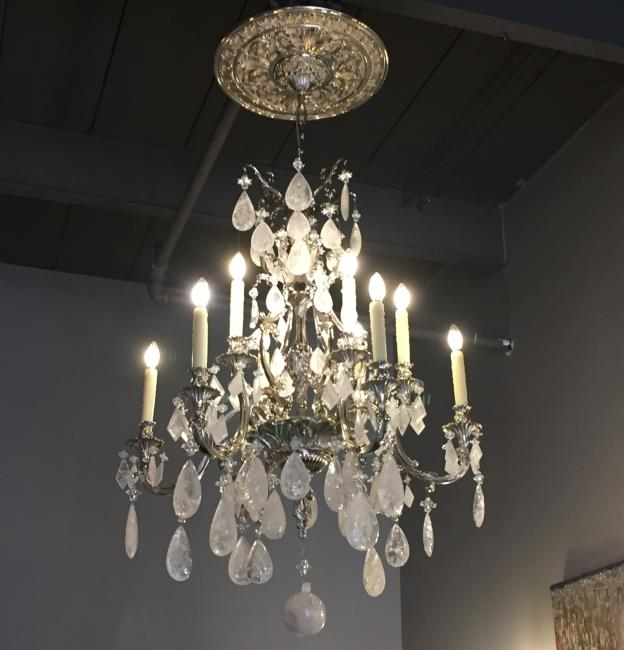 Industrial Art Gallery Rock Crystal