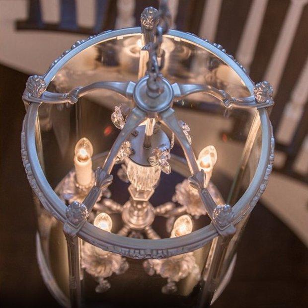 Mendham Lantern Interior
