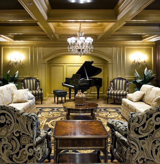 Chateau Music Room