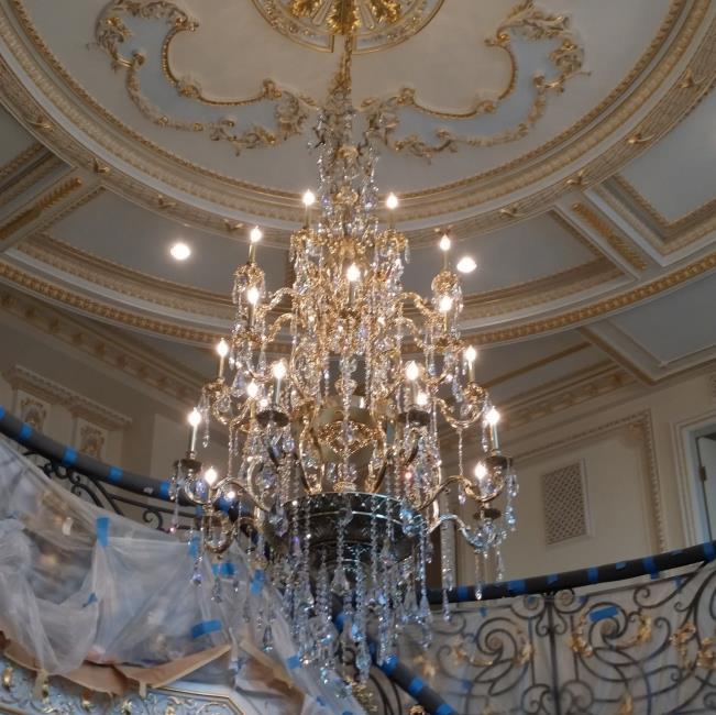 Chateau Filegree Foyer