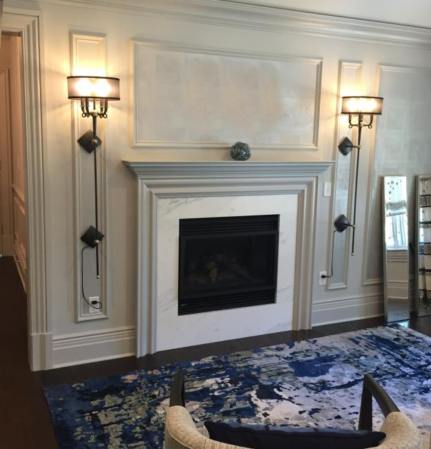 Magro Sconce Mantle