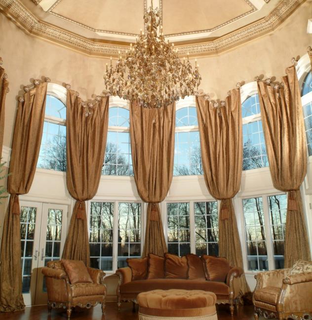 Drapino Great room